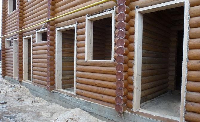 Монтаж окон в деревянном доме или что же такое обсадная коробка и зачем она нужна?